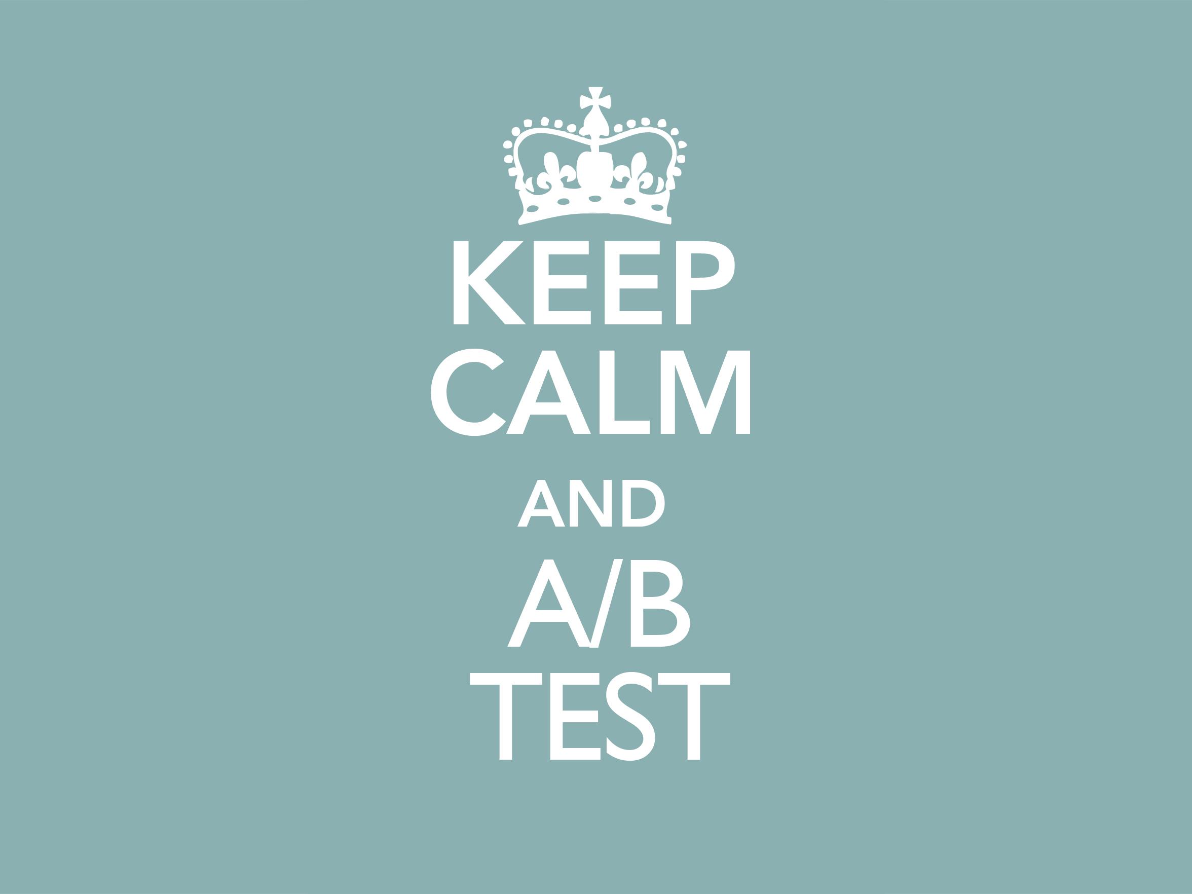 A/B testing benefits